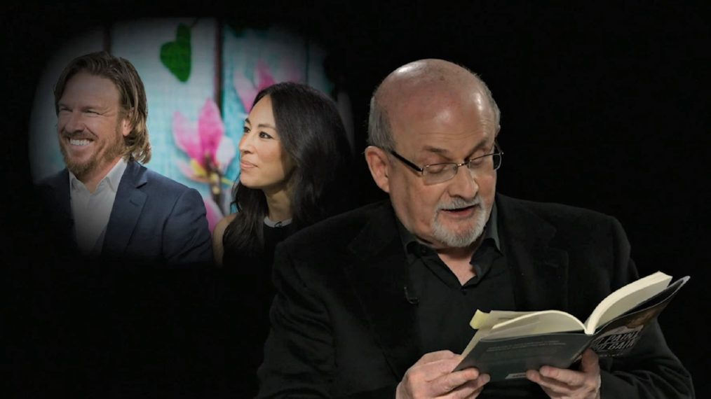Salman Rushdie Channels Chip Gaines sur 'Tooning Out the News' (VIDEO)