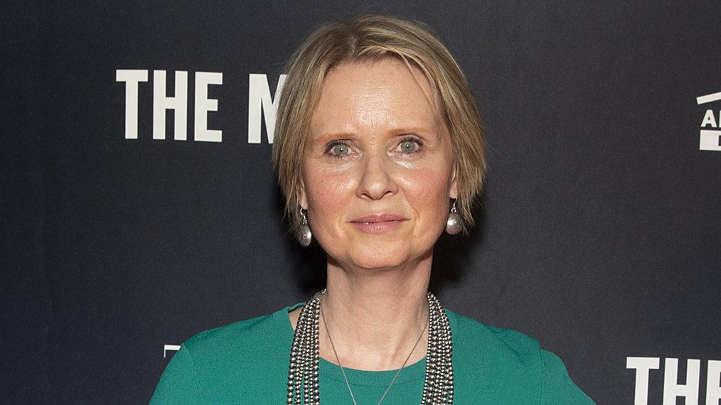 Cynthia Nixon assiste à l'événement de lancement TIME pour l'exposition VR de mars