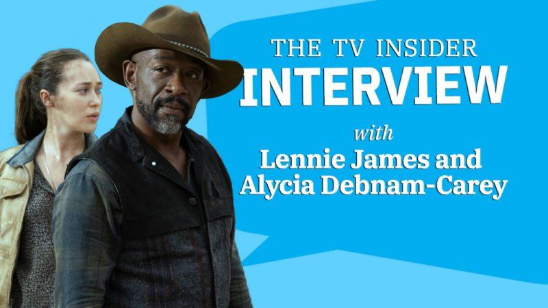 Lennie James et Alycia Debnam-Carey réfléchissent aux fans de «Fear TWD» (VIDEO)