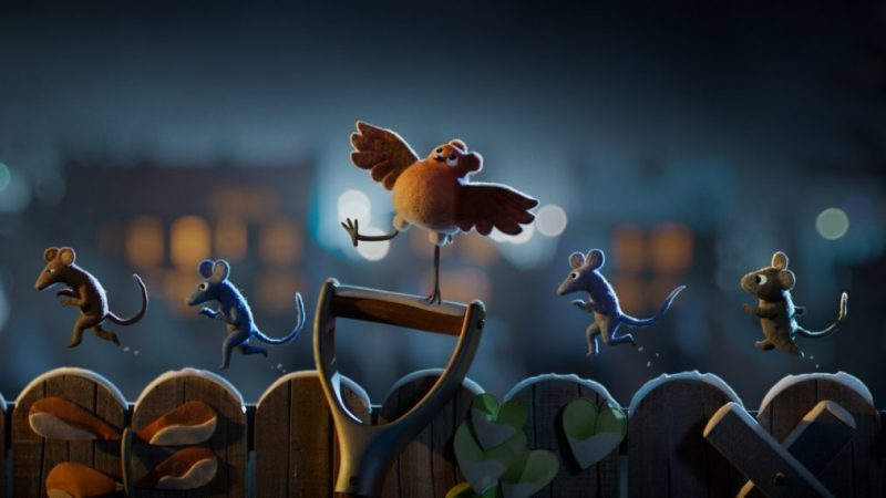 Netflix dévoile un premier aperçu de 'Robin Robin' avec Gillian Anderson (VIDEO)