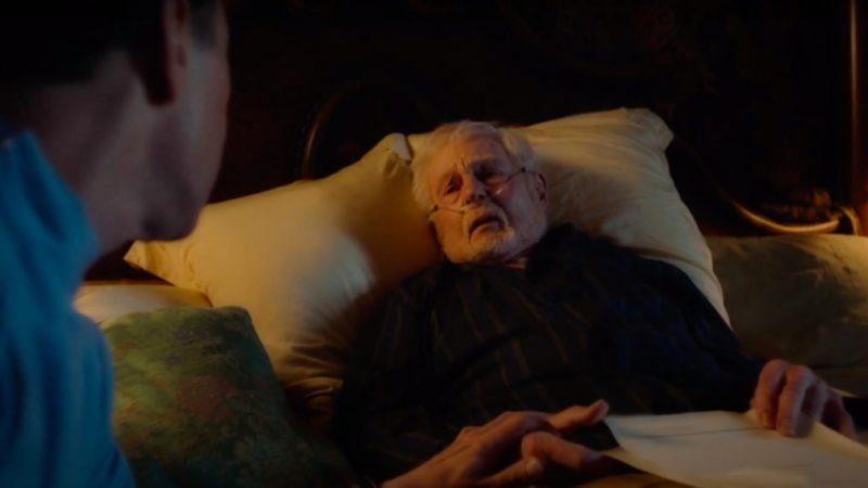 Voir Sir Derek Jacobi dans le rôle d'un avocat mourant dans 'Inside No. 9' (VIDEO)