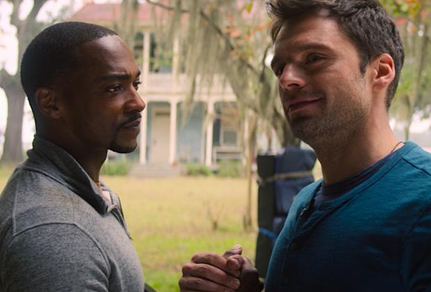 Anthony Mackie s'adresse à Falcon et Winter Soldier/Sam-Bucky Romance Spéculation: «Les gars peuvent être amis»