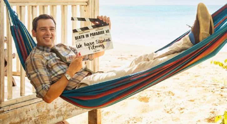 Death In Paradise – Saison 11 – Début du tournage + Annonce d'un nouveau membre de la distribution