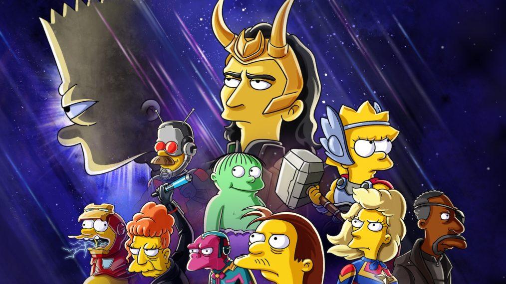 Loki de Tom Hiddleston rencontre «Les Simpson» dans un nouveau court métrage sur le thème de Marvel sur Disney +