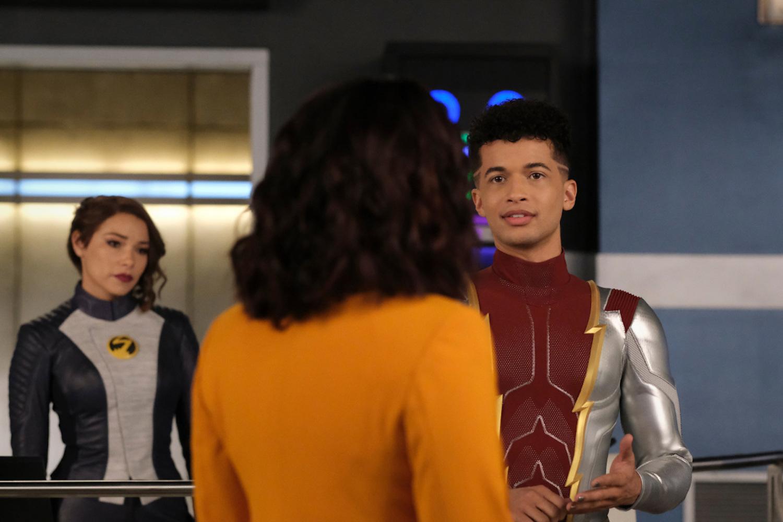 Nora Bart Iris The Flash Saison 7 Épisode 17