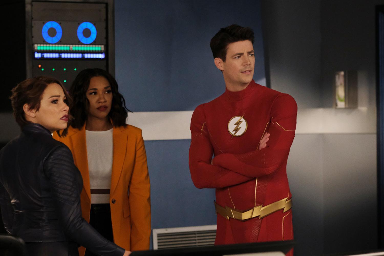 The Flash Saison 7 Épisode 17 Nora Iris Barry