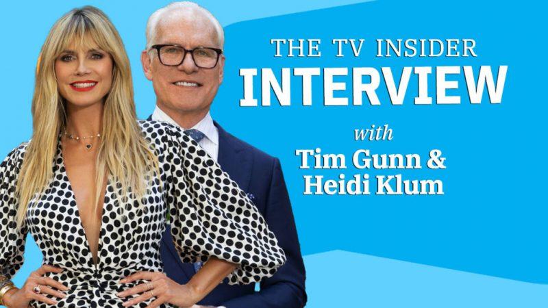 Heidi Klum et Tim Gunn disent que «Making the Cut» Saison 2 «est le jeu de n'importe qui» (VIDEO)