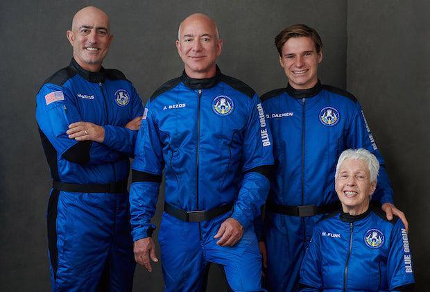 Jeff Bezos dans l'espace : regardez en direct le premier vol humain de New Shepard