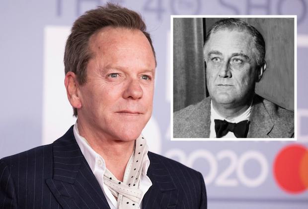 Kiefer Sutherland rejoint la première dame de Showtime en tant que président Roosevelt, face à Eleanor de Gillian Anderson