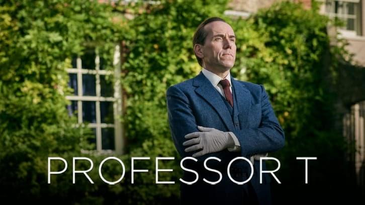 Professeur T – Promo First Look + Episode 1.01 – Communiqué de presse