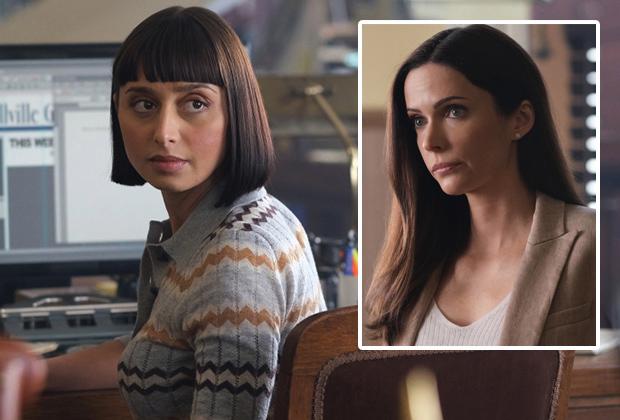 Sofia Hasmik de Superman et Lois sur la confrontation tendue de Chrissy avec son idole: «C'était un moment impitoyable»