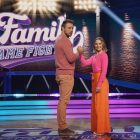 Kristen Bell et Dax Shepard 'Play Hard and Play Fair' dans 'Family Game Fight!'