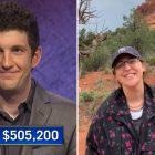 'Jeopardy!': Matt Amodio dépasse 500 000 $ de gains alors que Mayim Bialik partage une vidéo avec ses fans