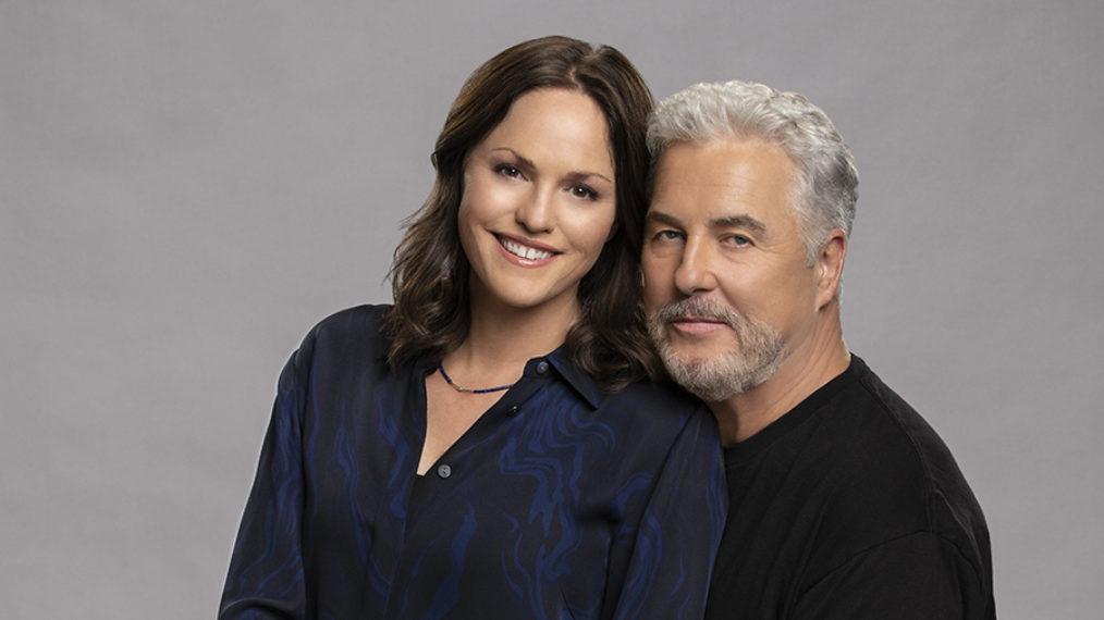Les stars de 'CSI' William Petersen et Jorja Fox sur What's Next pour Grissom et Sara dans 'Vegas'
