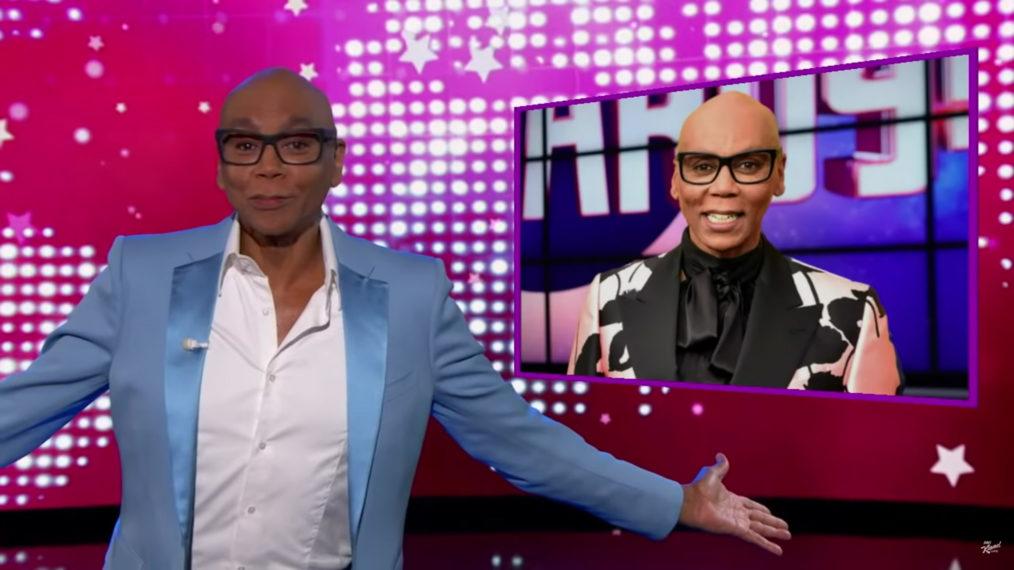 RuPaul propose d'héberger «Jeopardy !» : «Je suis là, salope !»  (VIDÉO)