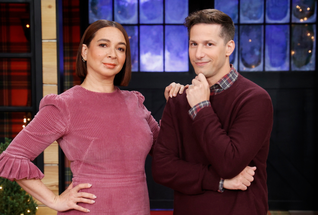 Maya Rudolph et Andy Samberg animeront le concours Peacock Baking It