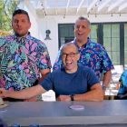 Joe Gatto et Chris Distefano taquinent le crossover 'Imppractical Jokers'-'Backyard Bar Wars'