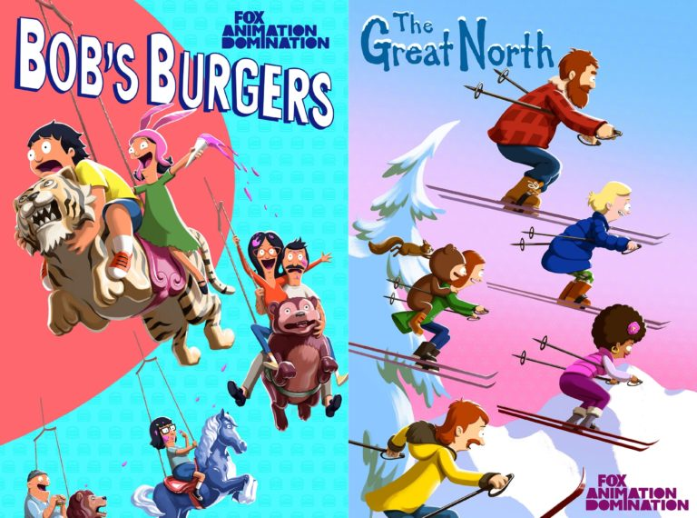 Bob's Burgers & The Great North Key Art Fox 2021