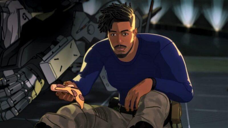 'Et qu'est-ce qui se passerait si…?'  Premier aperçu:Killmonger de Michael B. Jordan et Tony Stark font équipe (VIDÉO)