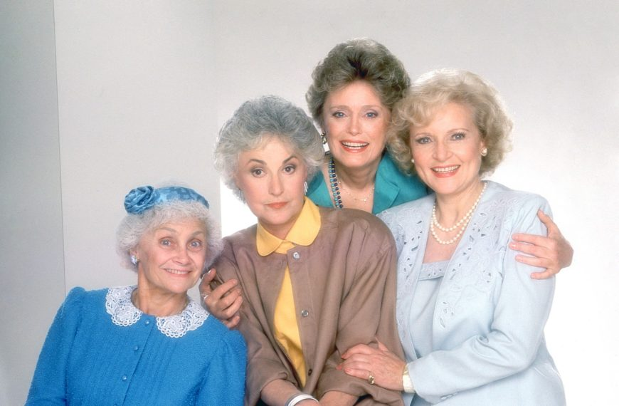 'The Golden Girls', NBC, Betty White comme Rose, Bea Arthur comme Dorothy, Estelle Getty comme Sophia, Rue McClanahan comme Blanche