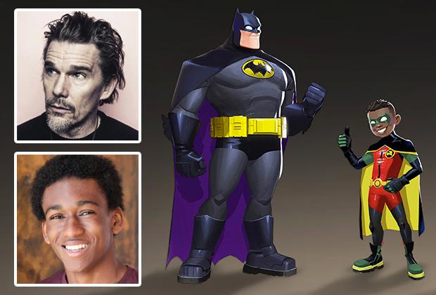 Ethan Hawke et The Good Place Alum AJ Hudson feront la voix de Batman et Robin sur Batwheels de Cartoon Network
