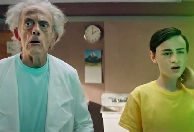 Rick et Morty (enfin) incarnent Christopher Lloyd dans le rôle de Rick Sanchez dans le segment d'action en direct – Regardez