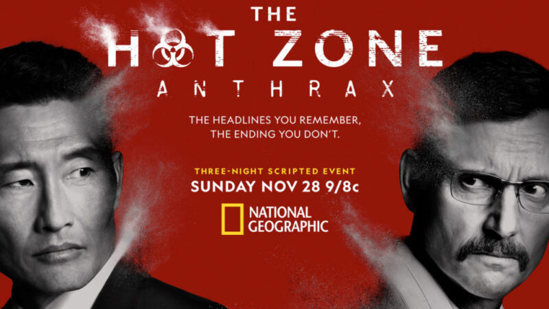 Voir Daniel Dae Kim et Tony Goldwyn dans l'affiche 'The Hot Zone: Anthrax' (PHOTO)